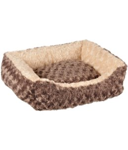 Mand cuddly rechthoekig taupe 50x40x15cm