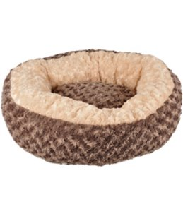 Mand cuddly rond taupe dia. 50x18cm