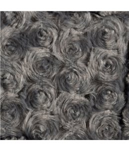 Mand cuddly plat grijs 48x37x7cm