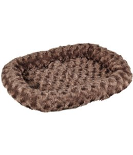Mand cuddly plat taupe 48x37x7cm