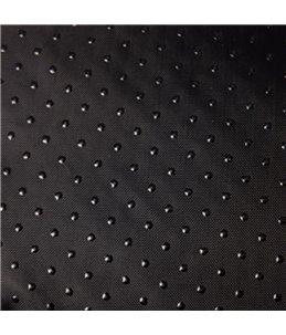 Mand snoozzy rechthoekig grijs/ zwart 50x40x15cm