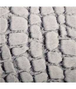 Hondenmand stone suede 55x45x23cm