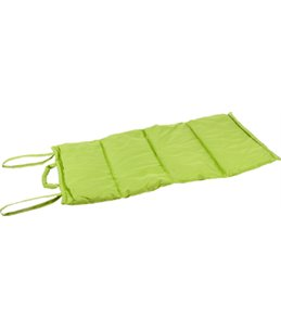 Wave blanket 107x71cm green