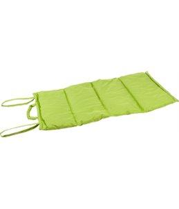 Wave blanket 107x71cm green
