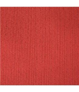 Kussen ovaal+rits baird 50cm rood