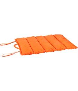 Wave blanket 76x45cm orange