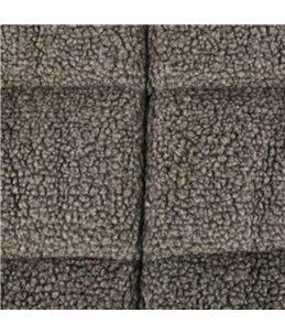 Kussen sherpa rh bruin 100x63x8cm