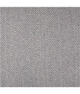 Kussen chevron rechthoekig groen/grijs 80x50x15