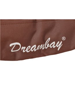 Kussen dreambay ovaal bruin 80x60x 14cm