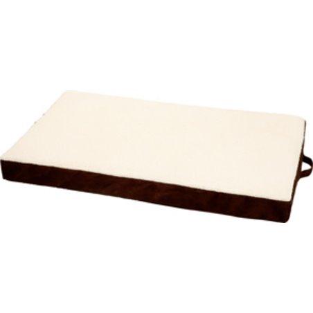 Kussen ortho rechth bruin 72x50x10c