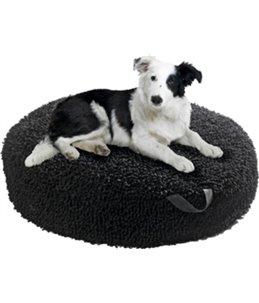 Ligkussen dogmaxx rond zwart 55cm