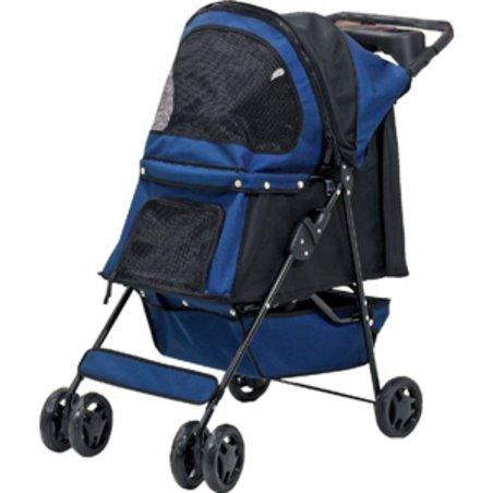 Smart buggy donkerblauw
