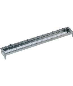 Kuikenvoerbak metaal 50 cm