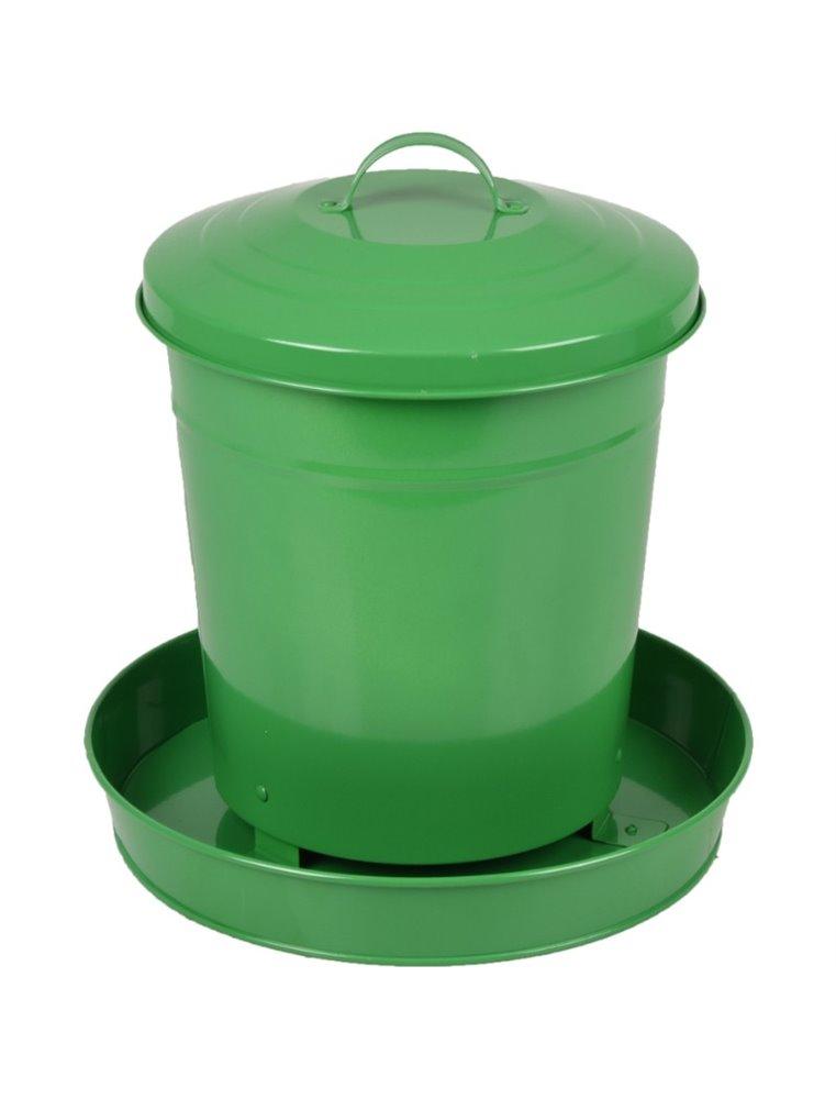 Voederbak hedwig groen 6l