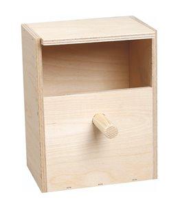 Nestkastje exoten open hout
