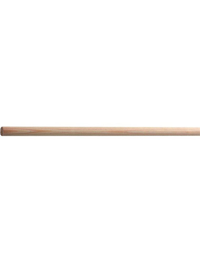 Zitstok hout 15mm 1m