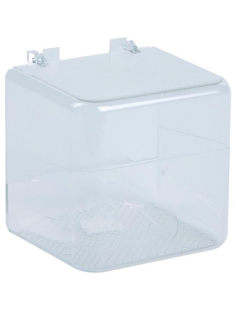 Badhuisje groot met plastic haakjes