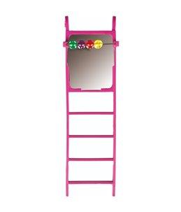 Park.speelg. ladder spiegel+kralen