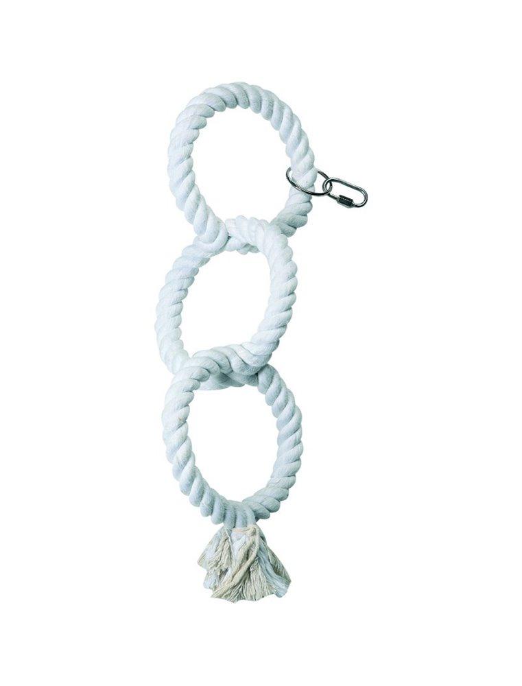 Katoenen touw 3 ringen