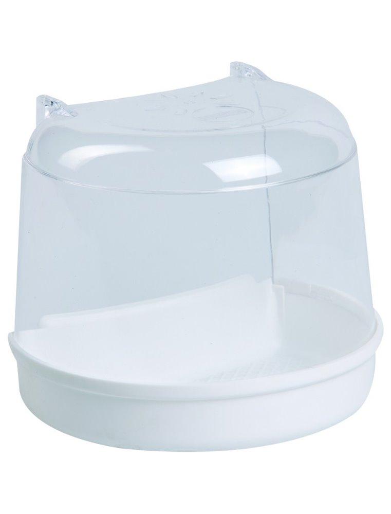 Badhuisje voor ronde kooien,wit