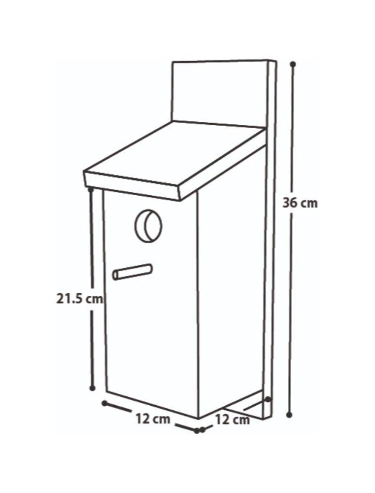 Nestkastje bouwpakket