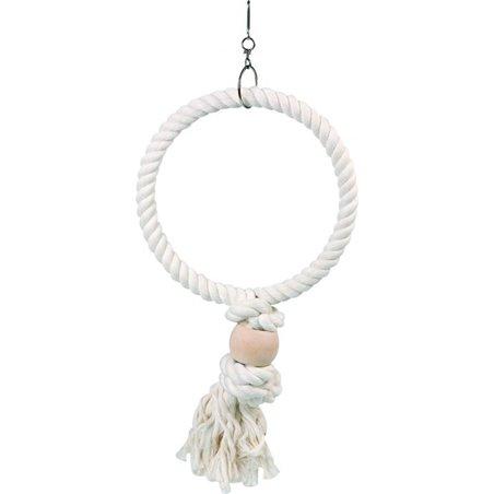 Kooihanger touw - ring - l