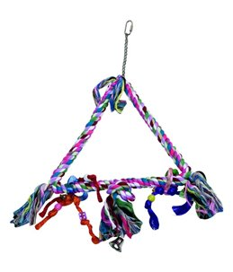 Kooihanger touw - triangle - m