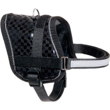 Eeny meeny hondentuig zwart 36-46cm 15mm