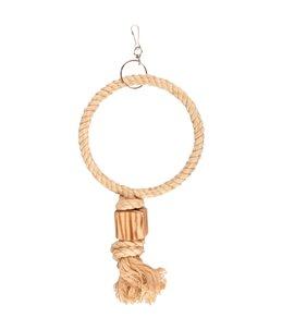 Bbq park speelg touw 1 ring 24cm
