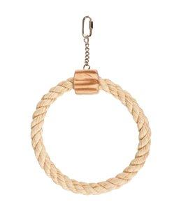 Bbq park speelg touw 1 ring 18cm