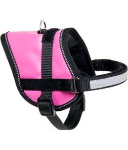 Eeny meeny hondentuig roze 36-46cm 15mm