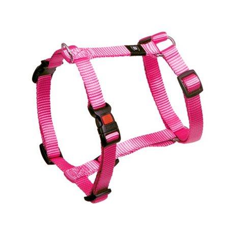 Hondentuig asp roze 65-100cm25mm
