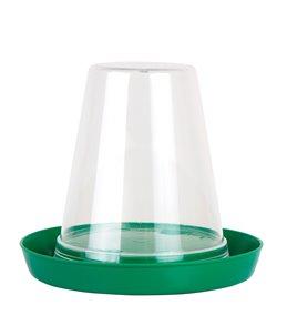 Pluimveedrinkbak 0,6 ltr PP/PS groen