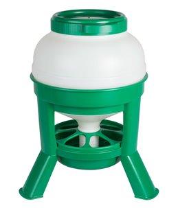 Hopper Feeder 20ltr. plastic groen