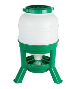 Hopper Feeder 30ltr. plastic groen