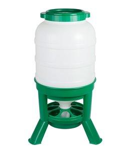 Hopper Feeder 40ltr. plastic groen