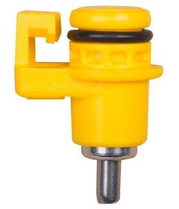 Pluimvee drinknippel, bajonet, 4.5mm pin