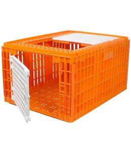 Transportkist voor pluimvee hoog 77cm