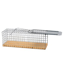 Rattenval kooimodel met houten bodem