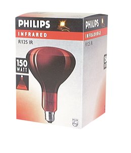PHILIPS INFRAROOD LAMP 150W E-27
