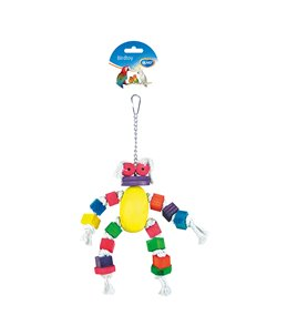 Coton Doll with Colorful Cubes