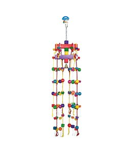 Carrousel Rope with Colorful Cubes & Bell