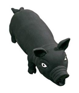 Latex varken zwart 33cm