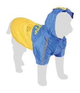 Regenjas 2in1 scout + fleece 48cm