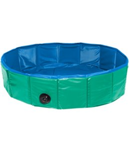 Doggy splash pool groen/blauw 120x 30cm