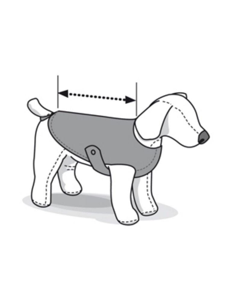 Honden-regenjas classic 55cm