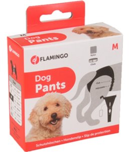 Hondenslip plastic gesp m zwart