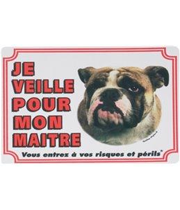 Waakbord fr - bulldog anglais