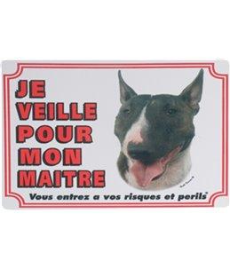 Waakbord fr - bull terrier
