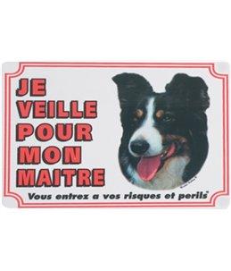 Waakbord fr - border colley